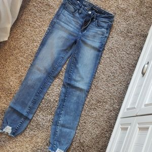 American eagle skinny jeans sz 4 long